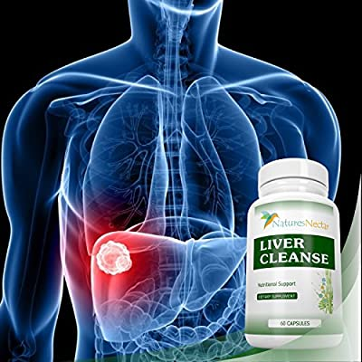 Liver Cleanse & Liver Detox Support Supplement - This Liver Detoxifier & Regenerator Formula Can Help Repair an Active Liver Plus Aid in the Rescue of a Fatty Liver-Liver Support Supplements Grass Fed