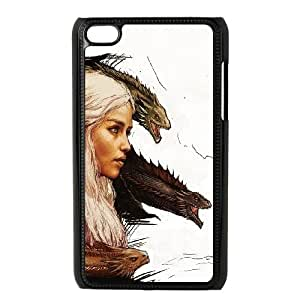 iPod Touch 4 Case Black Khalessi And Dragons Egcuv