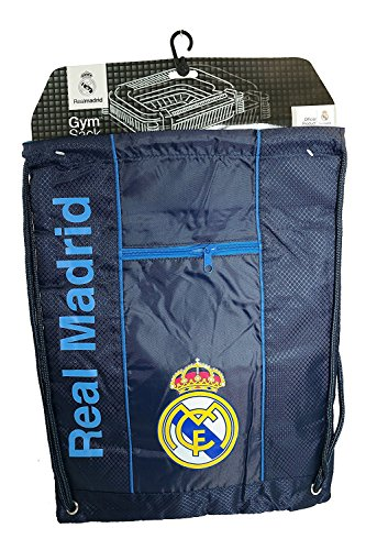 Real Madrid Authentic Official Licensed Soccer Drawstring Cinch Sack Bag 005