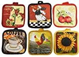 Cotton Valley 1930364 Printed Pot Holder - Pack of 2 - Case of 72