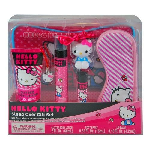 Hello Kitty Sleep Over Gift Set Popular Cute in Box