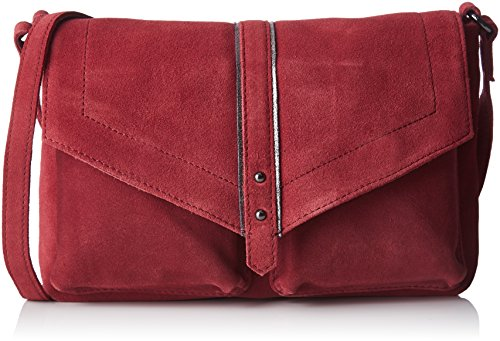 Women's Cross body Red Louka Mendigote tanin Petite Bag w671SS