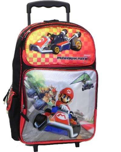 Full Size Mario Rolling Backpack