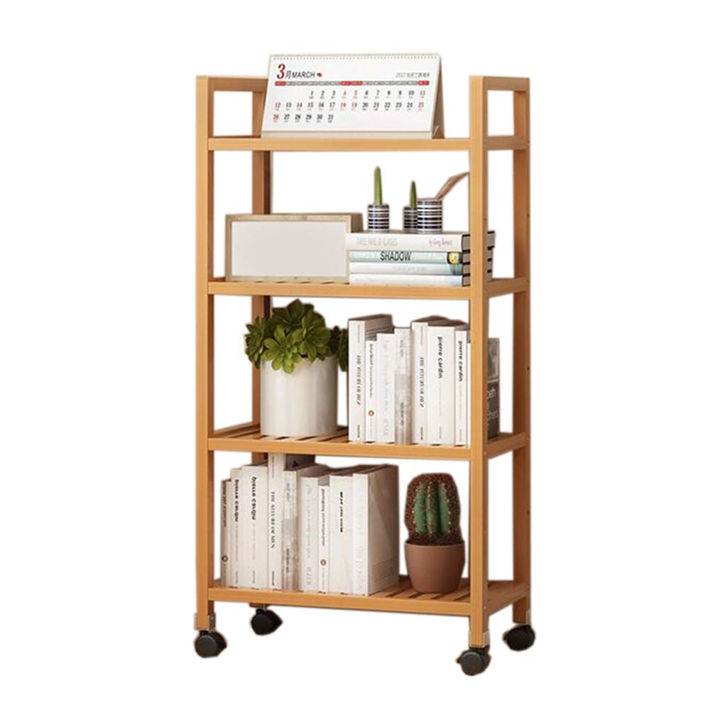 20.479.8442.12in JCAFA Shelves Bookshelf Multi-Function Floor-Standing Bookcase Living Room Display Stand Storage Manager Adjustable, Multiple Sizes (Size   27.55  9.84  31.1in)