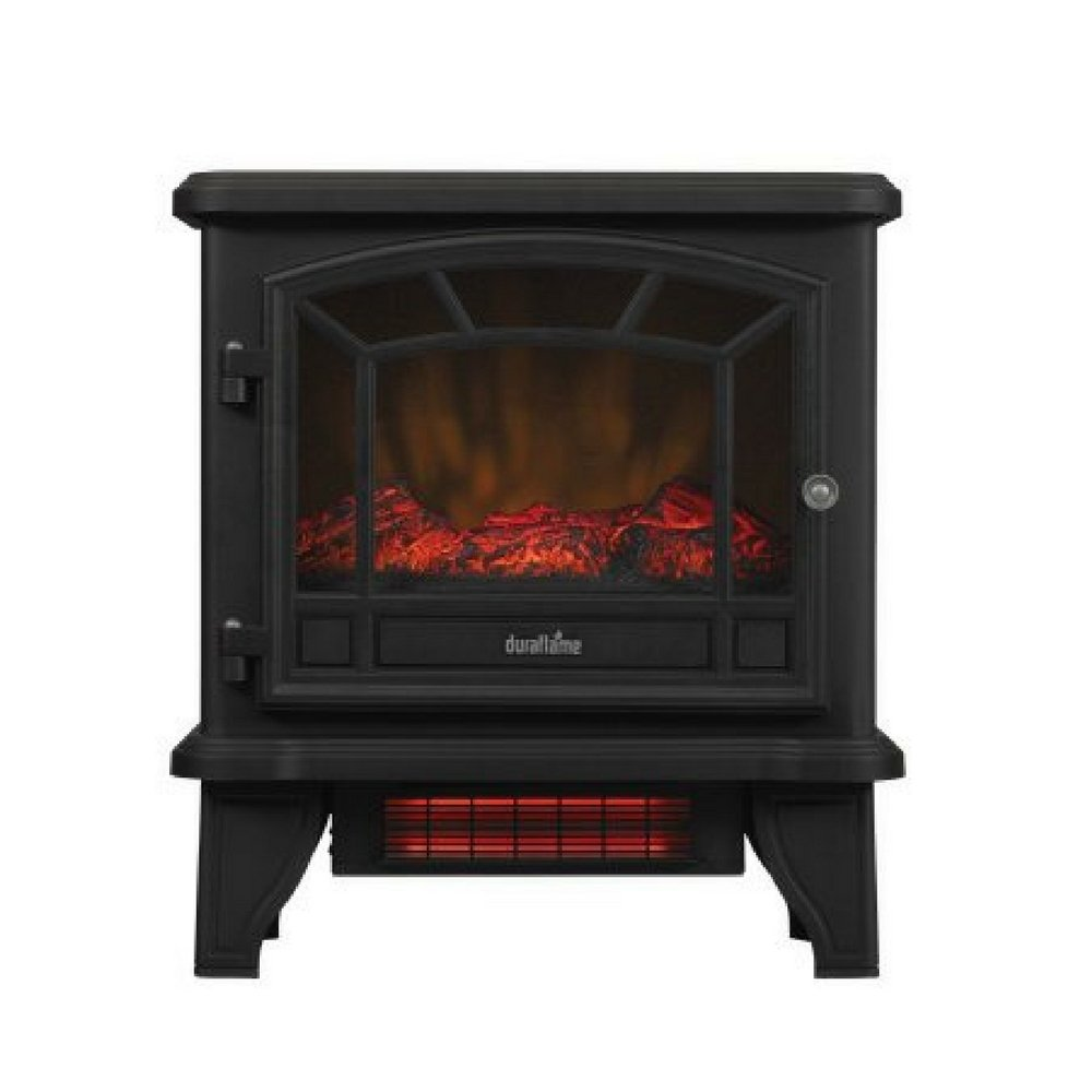 Duraflame Freestanding Infrared Quartz Fireplace Stove, Black by Duraflame