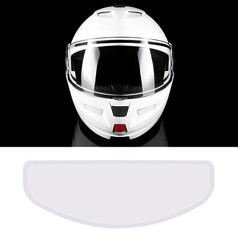 Standard//Cancella ningxiao586 Universale Casco del Motociclo della Visiera Film Anti-Appannamento Visiera Luce sensibile Visiera Inserisci