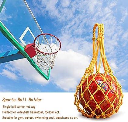 3Pcs Mesh Ball Net Voleibol Basketball Football Carry Net Bag ...