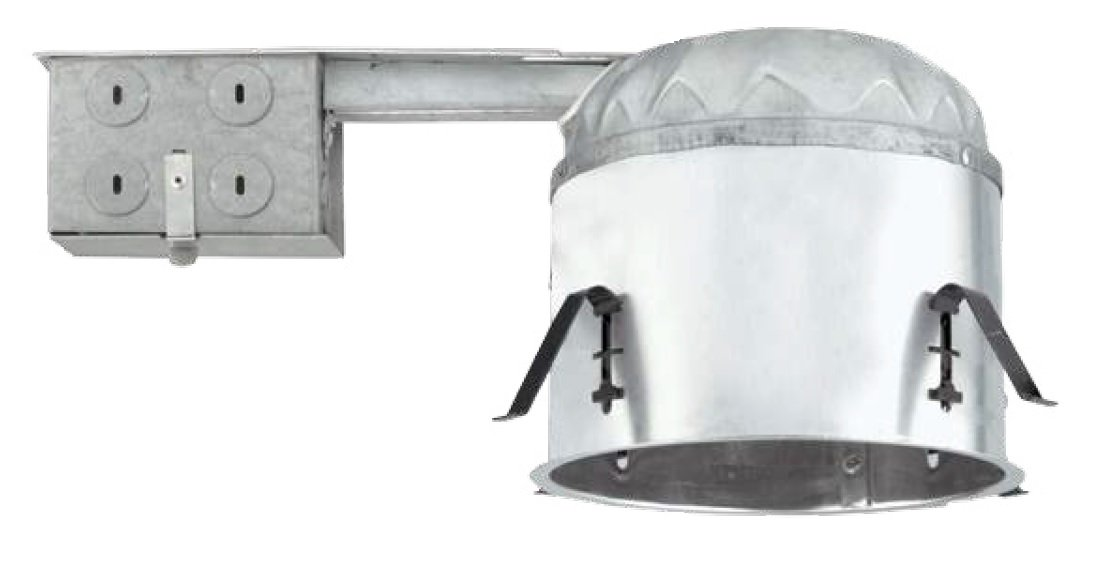 NICOR Lighting 6-Inch Non-IC Rated Shallow Recessed Remodel Housing (17004R)