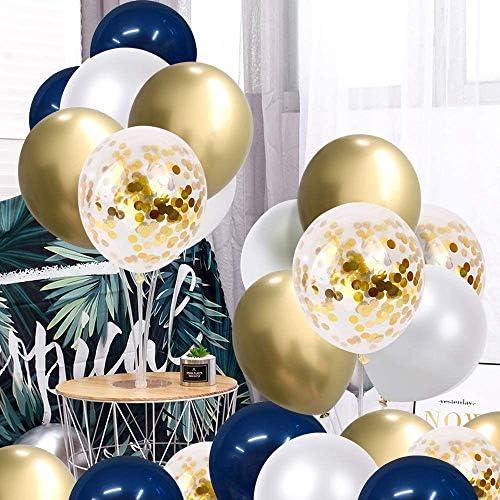 50個入り 風船 誕生日 飾り付け 光沢 バルーン 紙吹雪入れ キラキラ バレンタイン パーティー 飾り 誕生日 結婚式 お祭り 12インチ 風船 空気入