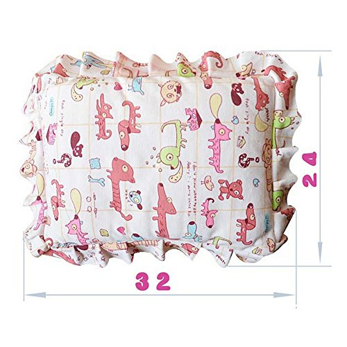 Price comparison product image Eonkoo Random Color Cartoon Pattern Design Baby Positioner Pillow for sleep , Prevent Flat Head With Natural Organic 100% contton Protective Sleeping Pillow for Newborn Gifts