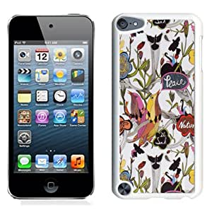 Newest and Fashionable Sakroots 20 White Phone Case for iPod Touch 5