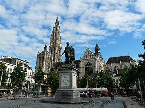 Home Comforts LAMINATED POSTER Antwerp, Belgium, Groenplaats