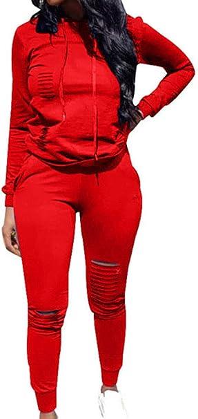 Top-Vigor - Chándal - para Mujer Rojo Rojo M: Amazon.es: Ropa y ...
