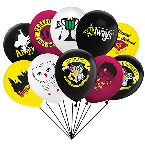 Magical Wizard School Balloons Party Decorations Supplies For Children Birthday Party,40pcs -