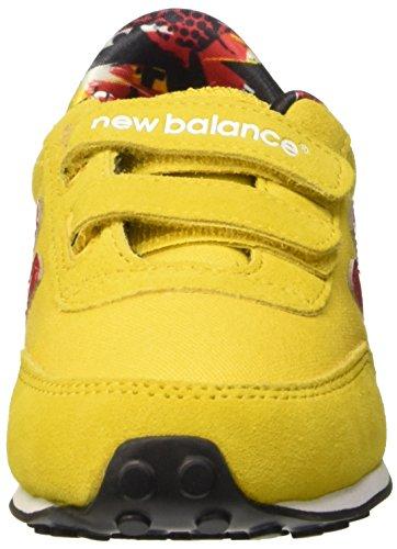 New Balance Kinder-Unisex NBKE410TOP Gymnastik Giallo (Yellow Red)
