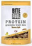 ice cream bites - BITE FUEL High Protein Granola Trail Mix, Non GMO, Gluten Free Healthy Snacks - Banana Apple 11oz