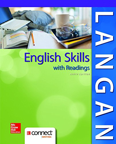 English Skills with Readings 9e with MLA Booklet 2016 and Connect Writing Access Card John Langan