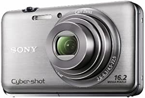 Sony Cyber-Shot DSC-WX9 16.2 MP Exmor R CMOS Digital Still Camera with Carl Zeiss Vario-Tessar 5x Wide-Angle Optical Zoom Lens and Full HD 1080/60i Video (Silver)