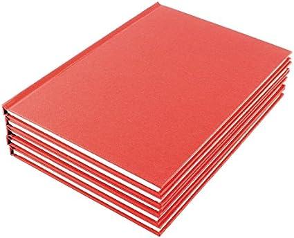Manuscript Book – Cuaderno (papel rayado, tamaño A5, [Pack de 10 ...