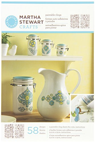 Martha Stewart Crafts Outline Glass Cling, 33263 Ornate - Outline Frame