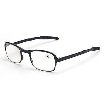 a24bcb69f9 Gafas de Lectura Plegable Hombre - zhuh aixmy Super Fácil Delgado  rectángulo Marco Gafas de ordenador 1.0 1.5 2.0 2.5 3.0 3.5 4.0 Contiene  Case: Amazon.es: ...