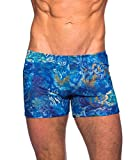 Kiniki Azure Tan Through Swim Shorts Swimwear S