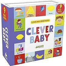 Clever Baby: 9 Mini Board Book Box Set