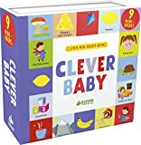 Best Books For One Year Old Boys - Clever Baby: 9 Mini Board Book Box Set Review
