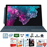 Microsoft LGP-00001 Surface Pro 6 12.3' Intel i5-8250U 8/128GB Convertible Laptop + Elite Suite 17 Software Bundle (Office Suite Pro, Photo Editor, PDF Editor, PCmover Pro) + 1 Year Extended Warranty