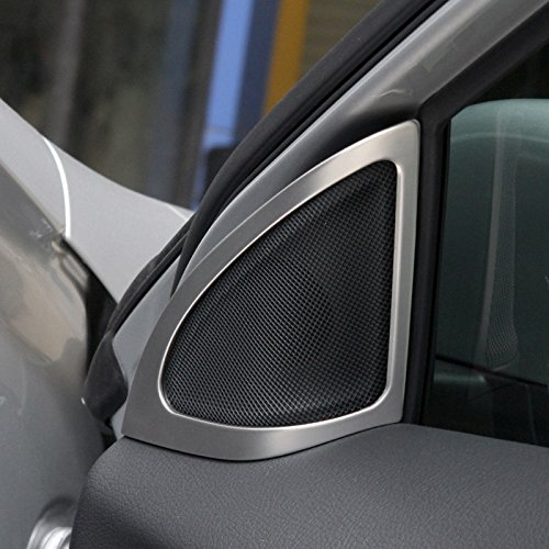 ステンレス車のドアスピーカーエッジカバートリム2pcs for Benz Gla x156 2014 -2015 B076P578RW