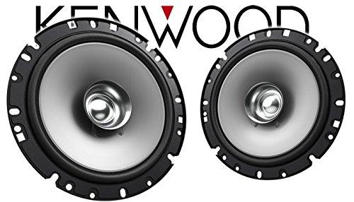 Lautsprecher Boxen Kenwood KFC-S1756-16cm Koax Auto Einbauzubeh/ör Einbauset f/ür Opel Astra F,G,H JUST SOUND best choice for caraudio