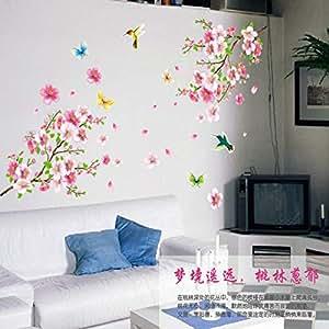 Living Room Glass TV Background Sticker