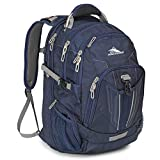 High Sierra XBT TSA Laptop Backpack - Ideal for High School and College Students - Fits Most 17-inch Laptop Models - True Navy Charcoal