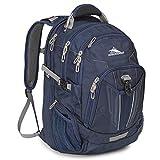 High Sierra XBT TSA Laptop Backpack, True Navy/Charcoal