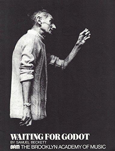 """Milo O'Shea """"WAITING FOR GODOT"""" Austin Pendleton / Sam Waterston 1978 Playbill"""