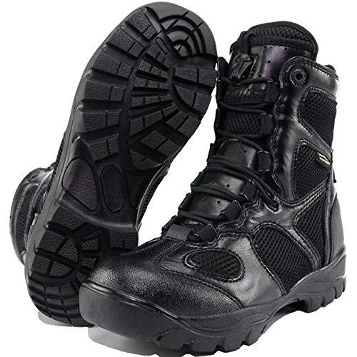 da da da Uomo Scarpe Alpinismo dell'Esercito Scarpa Scarponi da da Combattimento da per Black Stivali Scarpe Trekking Bambini Militare Scarponi DSFGHE Trekking Alpinismo wZIXg