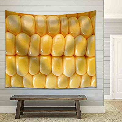 Yellow Sweet Corn Fabric Wall, Quality Creation, Charming Handicraft
