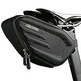 Cool Change Bike Saddle Bag Fully Waterproof | 2L Large Capacity | Tough EVA 3D Shell | Buckle Install Cycling Bag