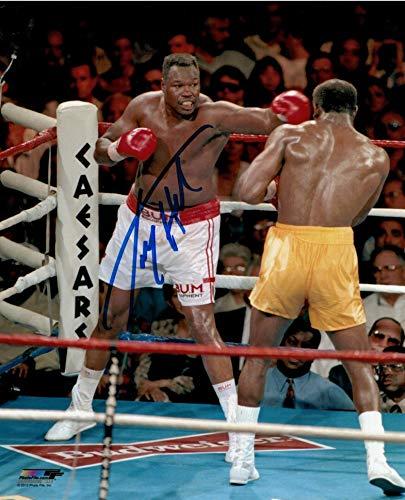 Autographed Larry Holmes Photo - 8x10 - Autographed Boxing Photos