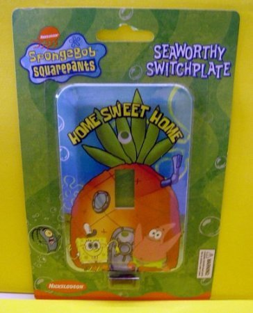 SpongeBob Squarepants Seaworthy Switchplate (Home Sweet Home) (Spongebob Decal Set)