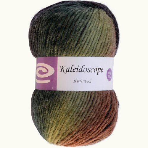 Elegant Yarns Kaleidoscope Yarn, Forest (Knitting Wool Knitting Yarn)