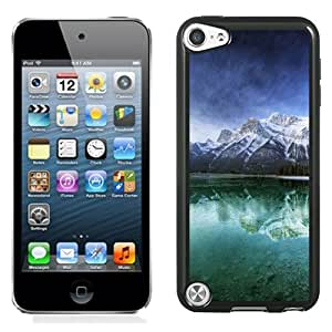 New Fashionable Designed For iPod Touch 5th Phone Case With Mountain Lake Reflection Phone Case Cover