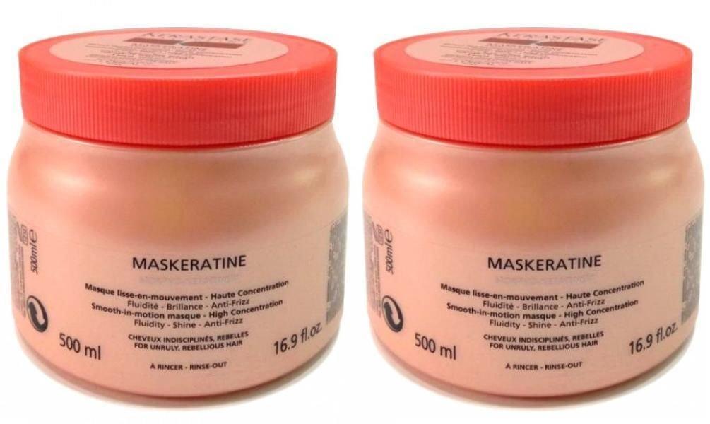 Pack Discipline : 2 X Masque Maskeratine 500ml Kerastase Shipping Fast