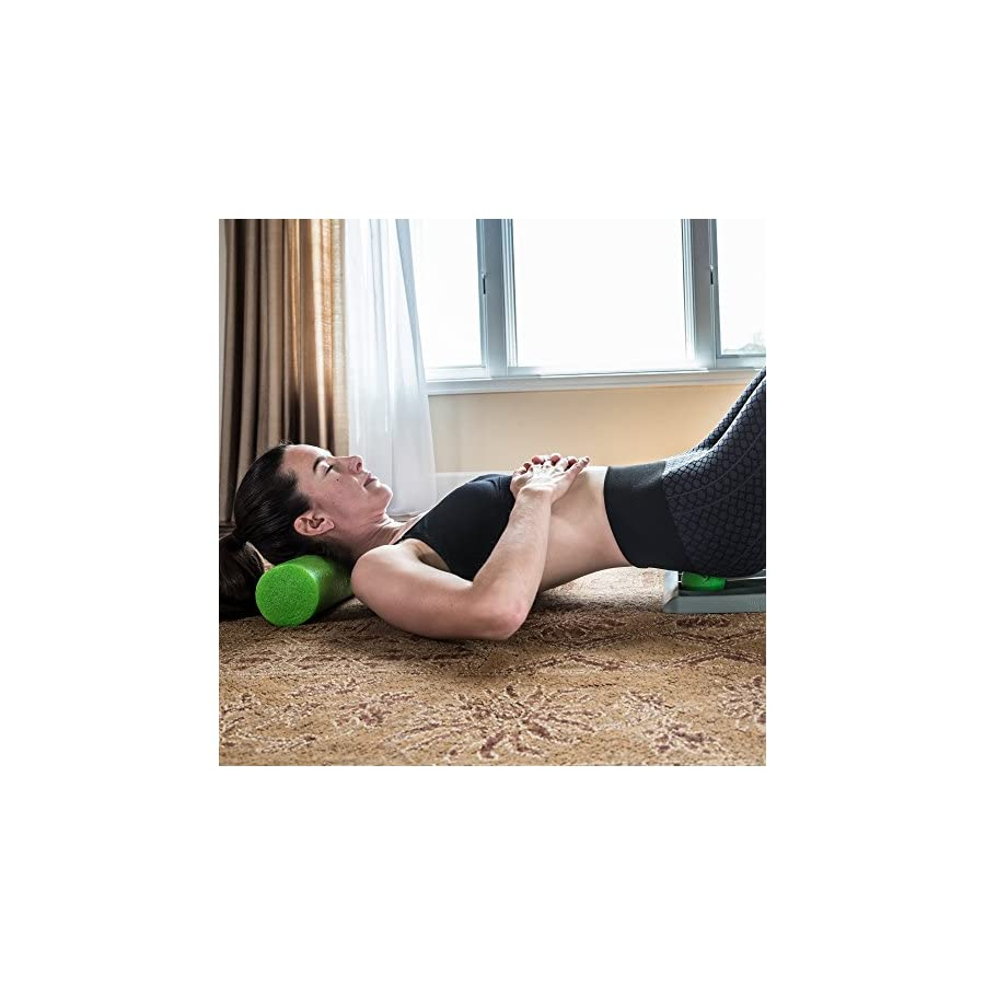 Deep Recovery Travel Size Foam Roller (High Density EPE (Green))