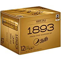 12-Pack Pepsi Cola 1893 Ginger Cola 12-oz. Can
