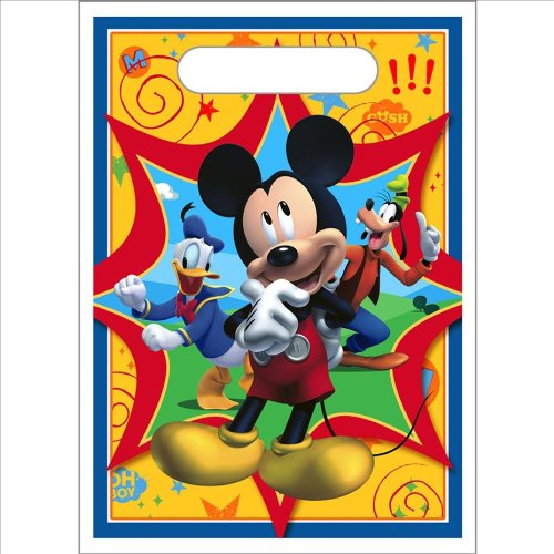 Mickey Mouse 'Fun and Friends' Favor Bags (8ct)]()