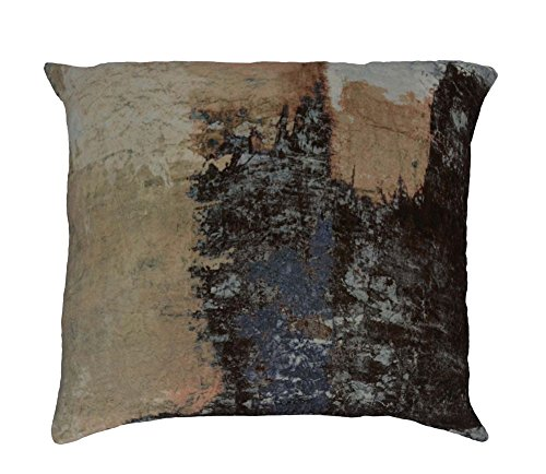 Brushstrokes Velvet Cushion W/ Multi Dimensions: 24''W x 0.4''D x 24''H Weight: 0 lbs by Moe's Home Collection