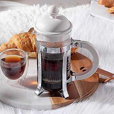 Licyen Prensa Francesa cafetera Café Appliance Mano de Cristal ...