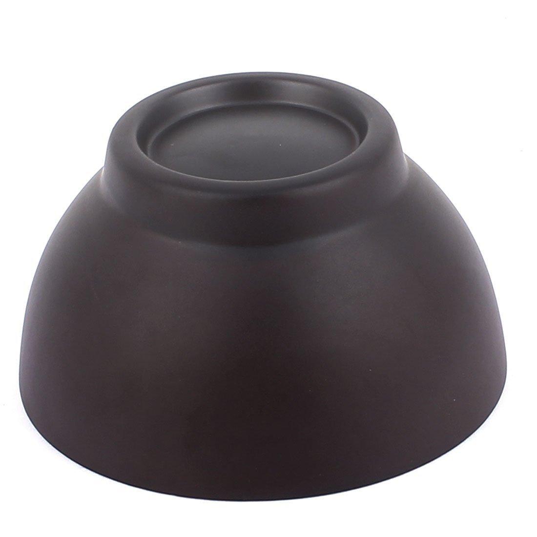 Amazon.com: DealMux de madeira redonda Food prato de arroz bacia bandeja 10 cm de diâmetro Brown: Home & Kitchen