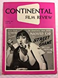 Continental Film Review October 1957 Machiko Kyo in Street of Shame